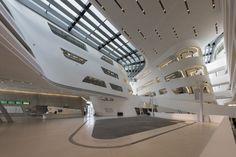 Vienna, WU, Library and Learning Centre, architect: Zaha Hadid