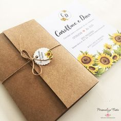 15th Birthday, Birthday Parties, Sunflower Wedding Decorations, Save The Date, Wedding Invitations, Marriage, Gift Wrapping, Weeding, 15 Years