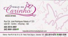 Eu recomendo Toque de Carinho Moda Íntima- Centro, #Inhumas, #Goiás, #Brasil