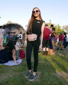 FYF Fest 2017 | Style: Sk8-Hi's & Checkerboard  While there were tons of Vans all over the grounds at FYF Fest this year, we think it's a tie between the Sk8-Hi & Checkerboard print for most popular kicks of the moment. No matter the shoe, they both... Vans Girls, Most Popular, Fashion 2017, Things To Think About, Kicks, Shoe, In This Moment, Zapatos, Popular