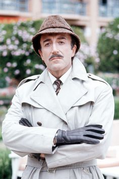 Peter Sellers: Inspector Clouseau. One of the funniest men ever.