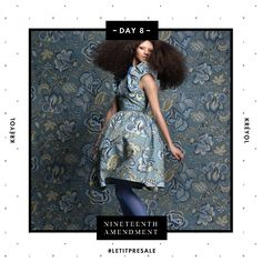 Day 8: Never a wallflower, KRÉYOL's Printed A-Line Dress is back on pre-sale for 7 days