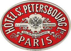 Francia - Parigi - Hotel St Petersbourg
