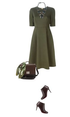 """""""Transitional Skater Dress"""" by maxfield ❤ liked on Polyvore"""
