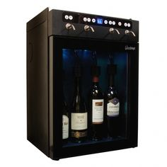 Vinotemp Capacity Black Dual Zone Cooling Wine Chiller at Lowe's. Vinotemp's dual-zone wine dispenser and cooler combines the convenience of a wine dispenser with the storing capacity of a wine cooler. Wine Time, Wine Storage, Locker Storage, Wine Dispenser, Beer Dispensers, Bjs Wholesale, Wine Chiller, Wine Coolers, Wine Display