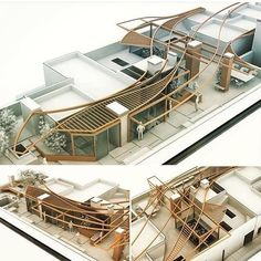 Urban design development located in for new pergola design by matteo cainer architects . Maquette Architecture, Architecture Design, Architecture Concept Drawings, Architecture Models, Landscape Architecture, Workshop Architecture, Architecture Illustrations, Architecture Diagrams, Architecture Board