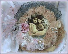 ADORE COLLAGE BOOK PREMADE SCRAPBOOK ALBUM FOR MOTHER'S DAY ELITE4U KHATSART http://www.ebay.com/sch/merchant/khatsart47