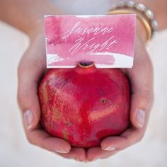 23 Gorgeous DIY Place Cards for Your Fall Wedding