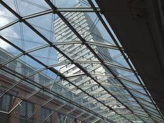 Oderpassage und Oderturm in Frankfurt (Oder)