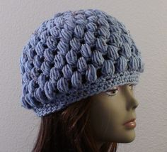 ad19f9072dc Crochet Geek - Free Instructions and Patterns  Puff Stitch Crochet Hat