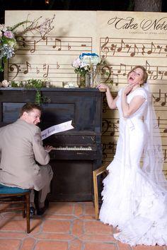 Musical Fairytale Wedding by Amorology
