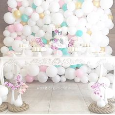 HOPE Creations by Mary Nehme  #party #partyideas #eventstyling #balloonwall