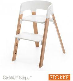 Stokke Steps ‐syöttötuoli, valkoinen – Syöttötuolit ja tuolit – Huonekalut ja sisustus – Vauvat ja perhe – Verkkokauppa.com