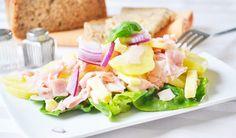 Das #Rezept vom #Käsesalat eigent sich sehr gut als #Vorspeise, oder als ein köstliches Abendessen.