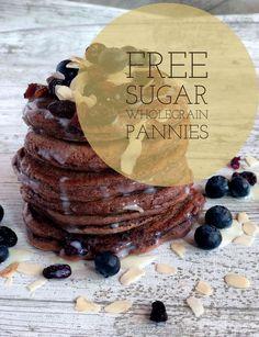 Delicious Sugar Free Cacao Pancakes