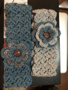 Tulip Stitch Headband & Earwarmer
