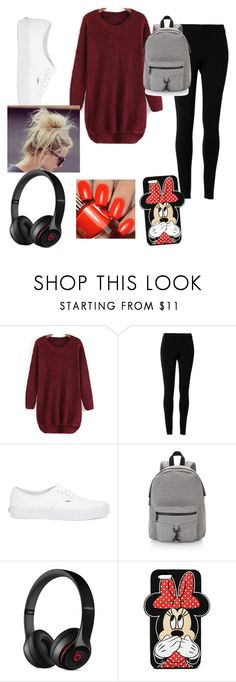 """""""Not Feeling Good Today"""" by fashionmaster101 ❤ liked on Polyvore featuring moda, Max Studio, Vans, Rebecca Minkoff, Beats by Dr. Dre y Forever 21"""
