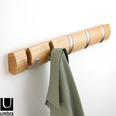 designer wall mounted hangers for clothes - Google Search