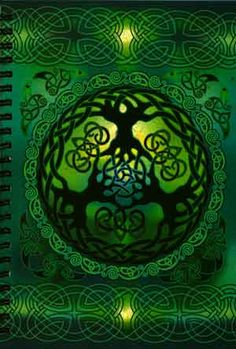 One of the many representations of Celtic knots...the ultimate symbol of the circle and interconnections of all living creatures with each other and the universe.