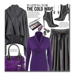 Work Wear (violet and grey) by beebeely-look on Polyvore featuring Gianni Renzi, Tod's, Burberry, WorkWear, classy, grey, sammydress and streetwear