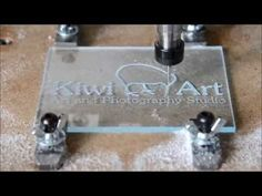 Making an acrylic sign with my DIY CNC Cnc Router Table, Diy Cnc Router, Cnc Woodworking, Router Projects, Led Projects, Resin In Wood, Grabar Metal, Wood Floor Lamp, Laser Cutter Projects