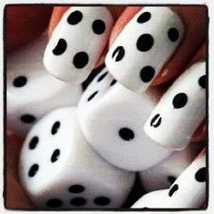 I love these nails, would be great for a Vegas vacation