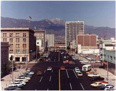 Nevada Avenue and Pikes Peak Avenue Colorado Springs