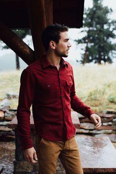 Hipster and modern lumberjack style. Mens Fashion Hooker