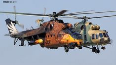 AMAZING MILITARY AIRCRAFT - WILD PAINT JOB ON RUSSIAN HIND-MI-24V - SCREAMING EAGLE