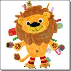 LABEL LABEL – Doudou FRIENDS Lion – Dès la naissance