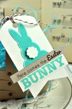 Easter Tag detail