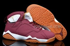 "www.jordanse.com/... WOMENS NIKE AIR JORDAN 7 GIRLS ""CIGAR"" TEAM RED/WHITE-GUM LIGHT BROWN NEW ARRIVAL Only 90.00€ , Free Shipping!"