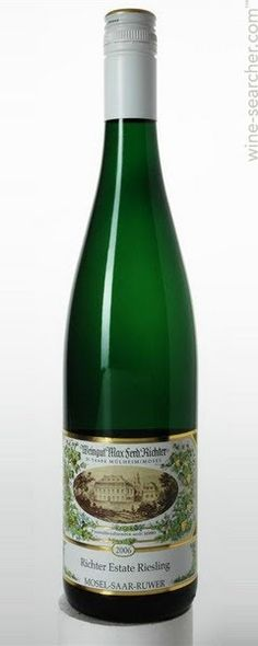 (Riesling) 2011 Weingut Max Ferd. Richter Estate Riesling, Mosel, Germany    [Avg. score: 92, Avg. price: £10]