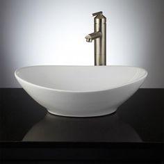 Valor Oval Vessel Sink