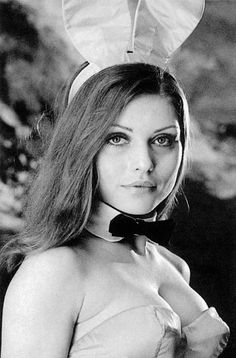 Debbie Harry as a Playboy bunny late 1960s