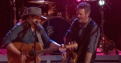 """Blake Shelton and his """"The Voice"""" protégé form a dynamic duo with this Waylon Jennings and Hank Williams Jr. cover"""