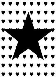 Ster-zwart | * Symbolen | abcd | kaarten | ster