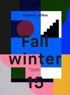 Stephane Kélian - Collection FW15 - Les Graphiquants