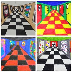 One Point Perspective Art Gallery, One Point Perspective Art Gallery,You can find One point perspective and more on our website.One Point Perspective Art Gallery, One Point Perspective Art Gallery, L'art Adolescent, Club D'art, Perspective Art, One Point Perspective, Classe D'art, Art Gallery, Teen Art, 6th Grade Art, Perspective