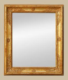 glace miroir bois dor style romantique miroir pinterest miroir bois miroirs et romantique. Black Bedroom Furniture Sets. Home Design Ideas