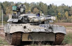 Tank T 80, close-up, forest, gray, military, t-80, tank