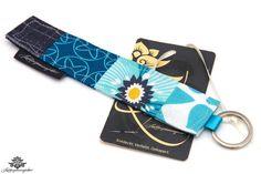 Blumiges Geschenk ;) für die beste Freundin: Schlüsselanhänger der #Lieblingsmanufaktur - farbenfrohes Unikat