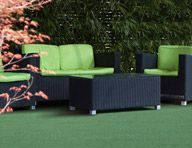 All new Turf Flooring with options from fitness to practicing your golf swing, indoors and out!