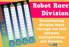 Robot Division Race Game