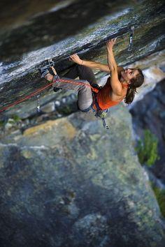 "badvoodoo: "" Speaking of awesome climbers, my ongoing climber crush, Lauren Lee. Climbing Girl, Sport Climbing, Ice Climbing, Beach Volleyball, Trekking, Mountain Biking, Rappelling, Kayak, The Mountains Are Calling"