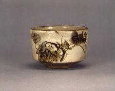 乾山銹絵蔦図茶碗 けんざんさびえつたずちゃわん 江戸時代 18c