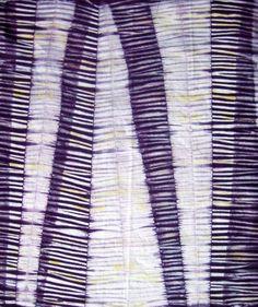 Day 6 (Rachel Switzer - Eggplant Purple Shibori Fat Quarter)
