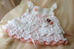 Maggie's Crochet · Savannah Belle Crochet Pattern Download ~ another Princess dress ~ so sweet! ~ CROCHET ~ 3, 6 & 9 mos.