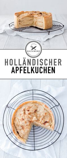 Holländischer Apfelkuchen / dutch apple cake / www.backbube.com - Foodblog