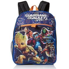 Marvel Boys' Guardians of the Galaxy 5pc Set Backpack -- Read more at the image link. (This is an affiliate link) #Bagpacks
